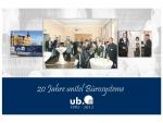 Firmenjubiläum 2012 - 20 Jahre unitel Bürosysteme